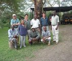 KPSGA members during a gold level assesment at Elsamere Naivasha